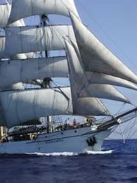 The Ship and Crew:  Barque Picton Castle