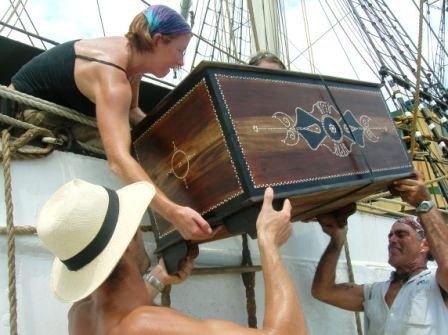 captain sea chest plans