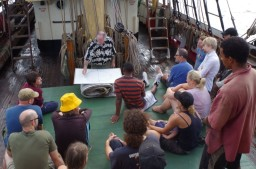 Bracing and sail handling lessons compressed