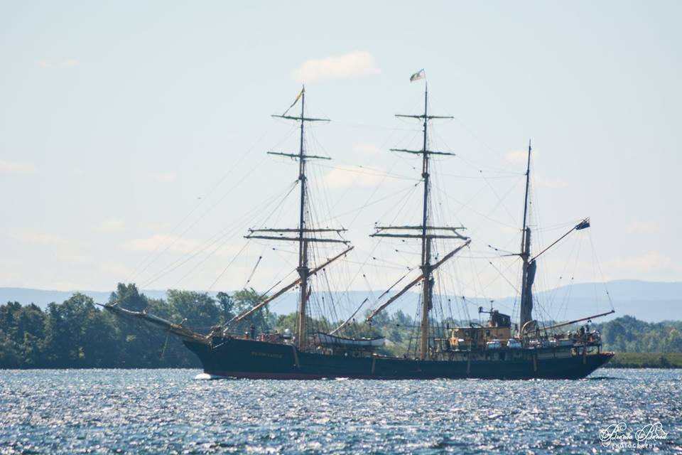PICTON CASTLE in the St Lawrence, photo by Brenda Benoit