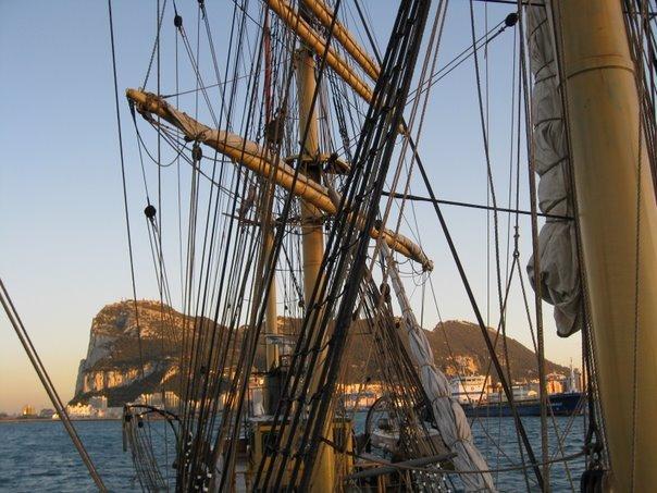 At anchor gibraltar