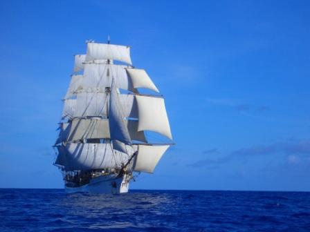 under sail with stunsls